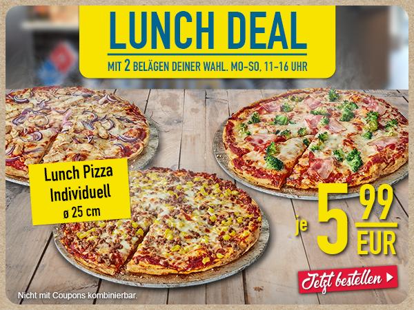 Lunch Deal sichern!